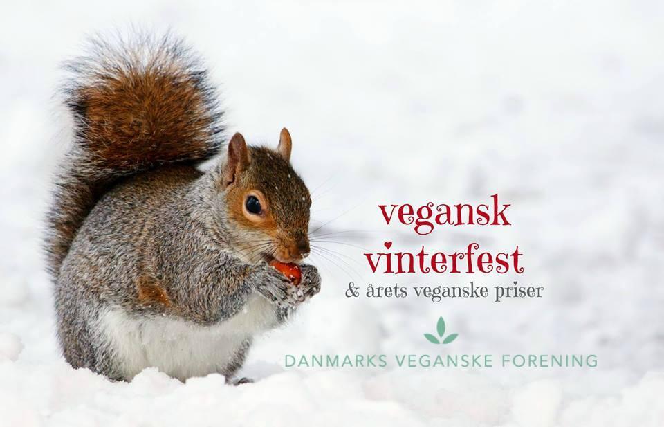 Vegansk vinterfest & Årets Veganske Priser, mad med medfølelse, danmarks veganske forening